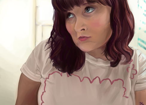 Portrait of Heather by soulexposed