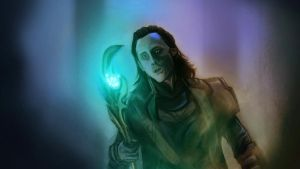 Loki God of Mischief by yuyusof