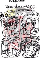 MCR Fun Faces by mychelromance