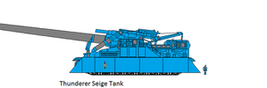 Thunderer Union Of Worlds Siege Tank: by EmperorMyric