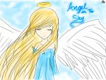 Angel in the Sky by SayuriSakurai