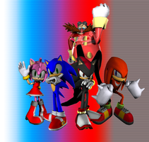 Sonic 3d Background 1 by HgGh7