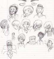 Solid: Doodle Busts by magusVroth