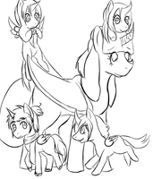 Little Family [Feat.Pangaea, Antarc, North, Asia] by AskEuropePony