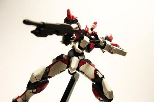 ARX-8 Laevatein - Revoltech 1 by Lalam24