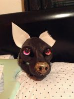 Fursuit head WIP by hitsong955