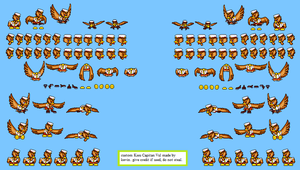 capitan vul sprites by kevin382