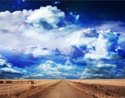 Road to Dream Sky by indecent-lighting