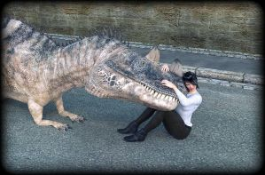 Ceratosaurus Pet by predatorian1777
