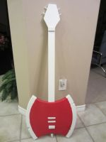 Guitar Paint Body Red by Soynuts