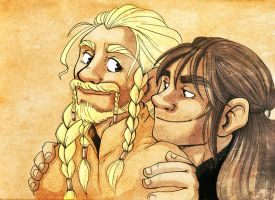 Your the Fili to My Kili by nerdeeart