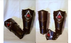Interchangeable Assassins Creed Bracer by MirabellaTook