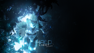 HALO light Explosion - Wallpaper by DiegHoDesigns
