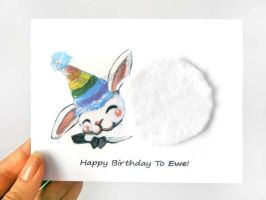 Happy Birthday To Ewe! by sobeyondthis