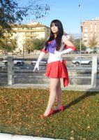 Sailor Mars by WuHara
