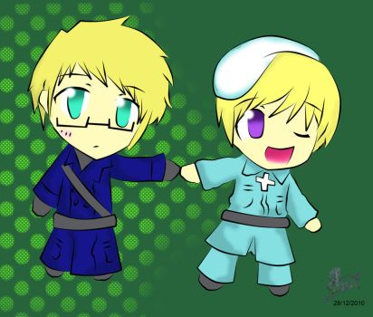 APH - SuFin Chibis by emgee-chan