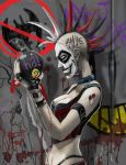 punked out harley quinn by scorpionmonkey