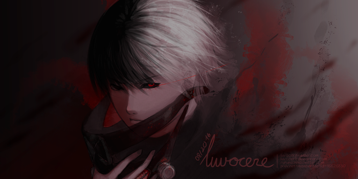 Kaneki by luvocere