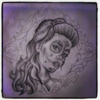 Day of the dead girl by Malitia-tattoo89