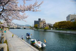 Hiroshima - 69 years after the A bomb by Rikitza