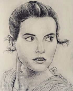 Rey Skywalker for Star Wars Day 2017 by Laily95