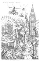 London's Burning by Carl-Riley-Art