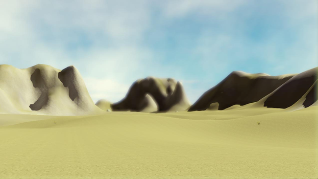 Screenshot from unannounced video game by DarthBotto