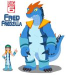Fred grow into Fredzilla by MCsaurus