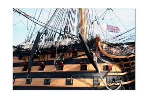 HMS Victory No1 by unclejuice