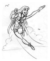 Supergirl by Tom B. by tombancroft