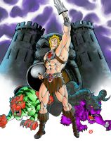 Commission 65-He-Man by shonemitsu