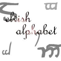 Elvish Alphabet brushes by xXtimeless-stockXx