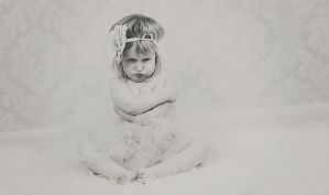 my little Hannah sad it all how we all feel - ill by Burder