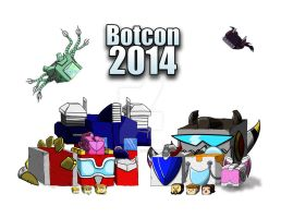 Botcon 2014 Autographs by Shirobutterfly