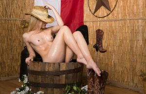 Bath Time Texas Style by d2l2