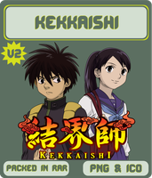 Kekkaishi v2 - Anime Icon by Rizmannf