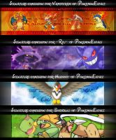PokemonEspace Comissions by Nawamane