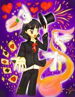 Magician Celemis :Comission: by HirokoTheHedgehog