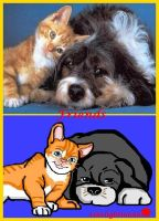 Friends_picture + with *paint by Starlightina88