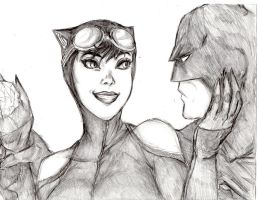 Cat and Bat: Just this once? by ActionKiddy