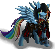 Rainbow Auditore da Firenze (NIGHT MODE) by CaptainDerpy