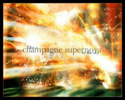 champagne supernova by sheselectric