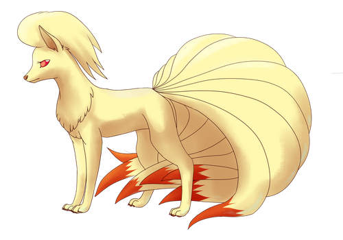 Ninetales by Apricotil