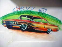 Chevy Flames by Nelson-Ramazzotti