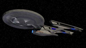 Alternate Reality USS Enterprise Refit Version 2 by Marksman104