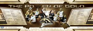 western michigan volleyball by Satansgoalie