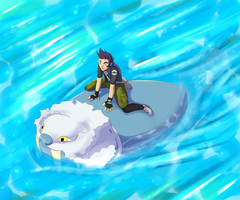 Walrein used Surf! by RoniBro