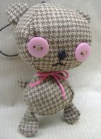 Tweed Teddy by philippajudith