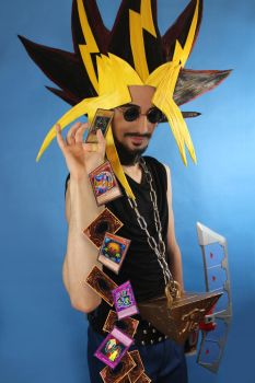 Working everyday to be your Yu-Gi-Bae by Pharaohmones