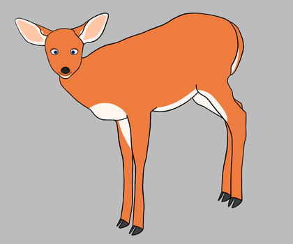 Fawn WIP by DelphinusV